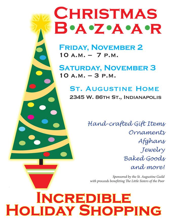 Nov 2 3 Set For Residents Christmas Bazaar